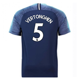 2018-2019 Tottenham Away Nike Football Shirt (Vertonghen 5)