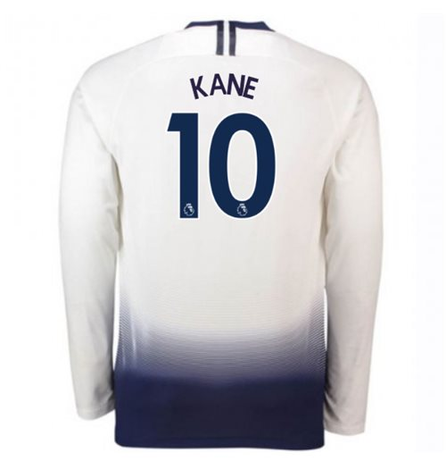 2018-2019 Tottenham Home Long Sleeve Nike Shirt (Kane 10)
