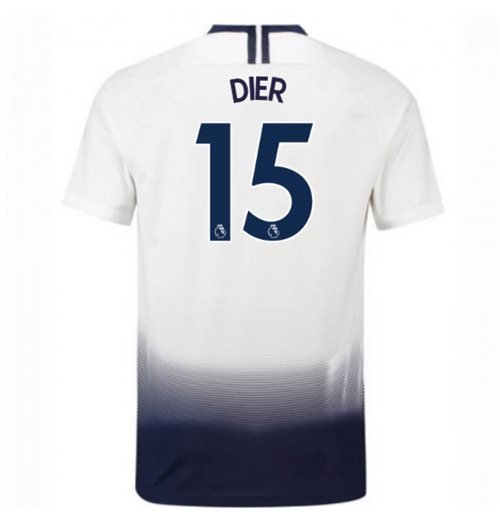 2018-2019 Tottenham Home Nike Football Shirt (Dier 15)