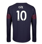 2018-2019 Arsenal Puma Away Long Sleeve Shirt (Ozil 10)