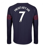 2018-2019 Arsenal Puma Away Long Sleeve Shirt (Mkhitaryan 7) - Kids