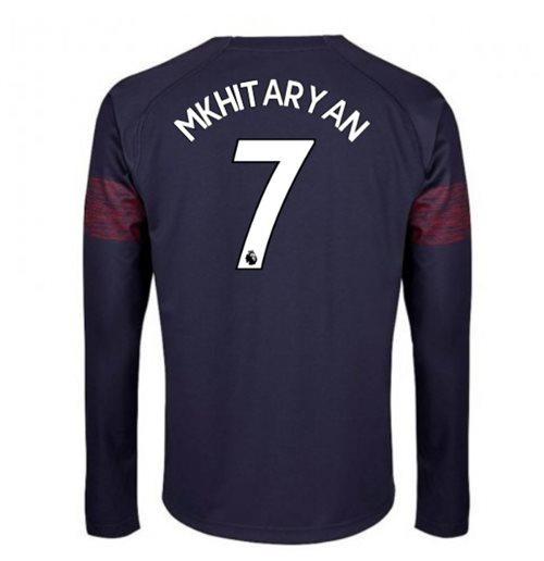af12c2660 Buy 2018-2019 Arsenal Puma Away Long Sleeve Shirt (Mkhitaryan 7)