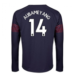 2018-2019 Arsenal Puma Away Long Sleeve Shirt (Aubameyang 14)