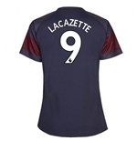 2018-2019 Arsenal Puma Away Ladies Shirt (Lacazette 9)