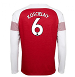 2018-2019 Arsenal Puma Home Long Sleeve Shirt (Koscielny 6)