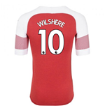 2018-2019 Arsenal Puma Home Football Shirt (Wilshere 10)