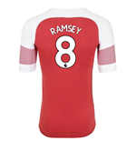 2018-2019 Arsenal Puma Home Football Shirt (Ramsey 8)