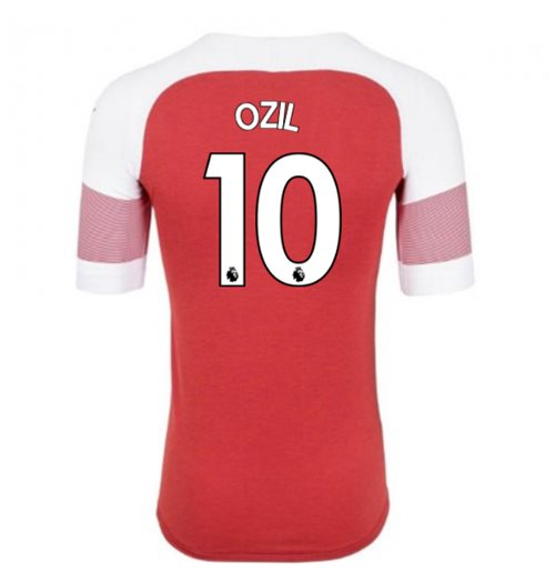 2018-2019 Arsenal Puma Home Football Shirt (Ozil 10)