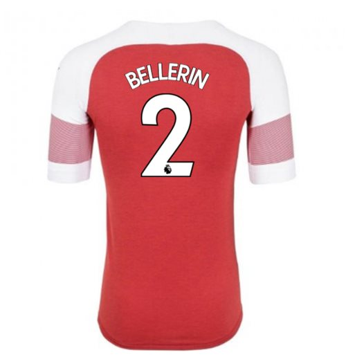 2018-2019 Arsenal Puma Home Football Shirt (Bellerin 2) - Kids