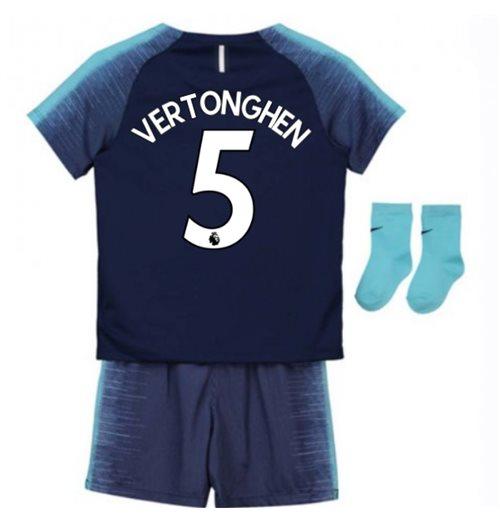 another chance 640da bfe95 2018-2019 Tottenham Away Nike Baby Kit (Vertonghen 5)