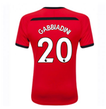 2018-2019 Southampton Home Football Shirt (Gabbiadini 20)