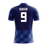 2018-19 Croatia Away Concept Shirt (Suker 9) - Kids