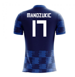 2018-19 Croatia Away Concept Shirt (Mandzukic 17) - Kids