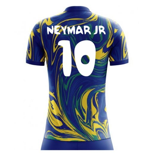 2018-19 Brazil Away Concept Shirt (Neymar Jr 10) - Kids