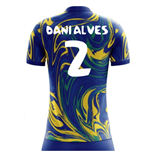 2018-19 Brazil Away Concept Shirt (Dani Alves 2) - Kids