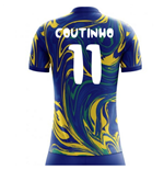 2018-19 Brazil Away Concept Shirt (Coutinho 11) - Kids