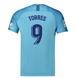 2018-19 Atletico Madrid Away Football Shirt (Torres 9) - Kids
