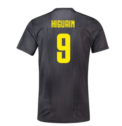2018-19 Juventus Third Football Shirt (Higuain 9) - Kids