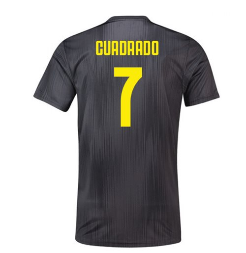 2018-19 Juventus Third Football Shirt (Cuadrado 7) - Kids