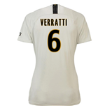 2018-19 Psg Away Womens Shirt (Verratti 6)