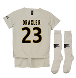 2018-19 Psg Away Mini Kit (Draxler 23)