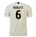 2018-19 Psg Away Football Shirt (Verratti 6) - Kids
