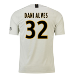 2018-19 Psg Away Football Shirt (Dani Alves 32)