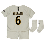 2018-19 Psg Away Baby Kit (Verratti 6)