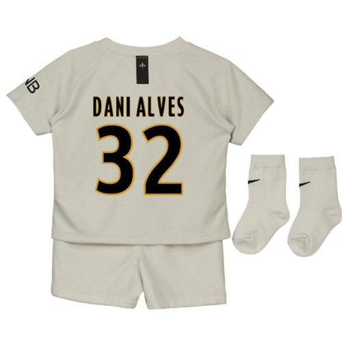 2018-19 Psg Away Baby Kit (Dani Alves 32)
