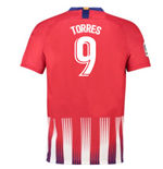 2018-2019 Atletico Madrid Home Nike Football Shirt (Torres 9) - Kids