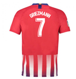 2018-2019 Atletico Madrid Home Nike Football Shirt (Griezmann 7) - Kids