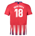 2018-2019 Atletico Madrid Home Nike Football Shirt (Diego Costa 18)