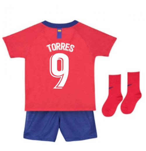 Buy Official 2018-2019 Atletico Madrid Home Nike Baby Kit (Torres 9) e245705b1273b
