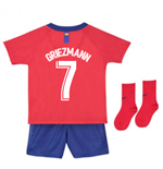 2018-2019 Atletico Madrid Home Nike Baby Kit (Griezmann 7)
