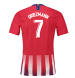 2018-2019 Atletico Madrid Authentic Vapor Match Home Nike Shirt (Griezmann 7)