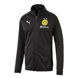 2018-2019 Borussia Dortmund Puma Training Softshell Jacket (Black)