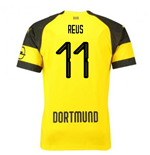 2018-2019 Borussia Dortmund Puma Home Football Shirt (Reus 11) - Kids