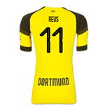 2018-2019 Borussia Dortmund Puma Authentic EvoKNIT Home Football Shirt (Reus 11)