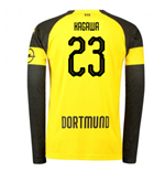 2018-2019 Borussia Dortmund Home Long Sleeve Puma Shirt (Kagawa 23)