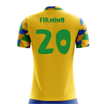 2018-2019 Brazil Home Concept Football Shirt (Firmino 20) - Kids