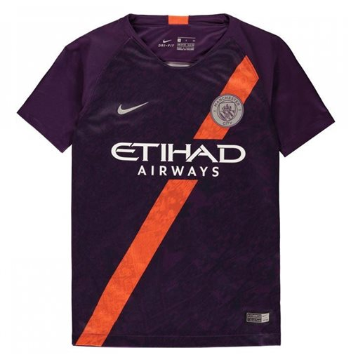 ad65455c1 Buy Official 2018-2019 Man City Third Nike Football Shirt (Kids)