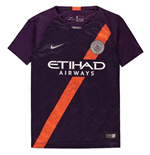2018-2019 Man City Third Nike Football Shirt (Kids)