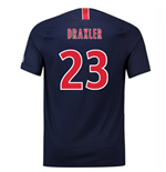2018-2019 PSG Authentic Vapor Match Home Nike Shirt (Draxler 23)
