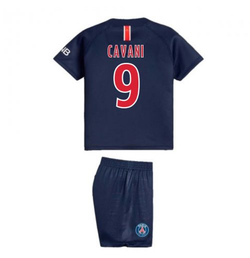 2018-2019 PSG Home Nike Baby Kit (Cavani 9)