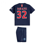 2018-2019 PSG Home Nike Baby Kit (Dani Alves 32)