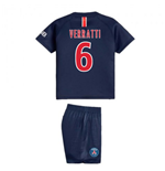 2018-2019 PSG Home Nike Baby Kit (Verratti 6)
