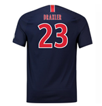 2018-2019 PSG Home Nike Football Shirt (Draxler 23)