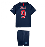 2018-2019 PSG Home Nike Little Boys Mini Kit (Cavani 9)