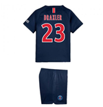 2018-2019 PSG Home Nike Little Boys Mini Kit (Draxler 23)
