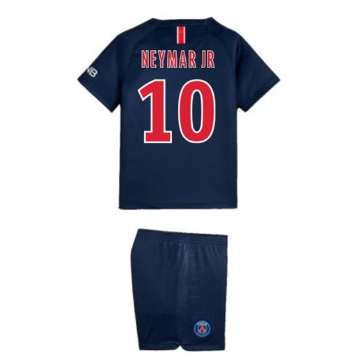 2018-2019 PSG Home Nike Little Boys Mini Kit (Neymar Jr 10)